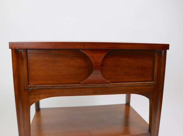 American Perspecta Nightstand by Kent Coffey For Sale