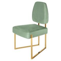 Perspective II Dining Chair, Velvet, InsidherLand by Joana Santos Barbosa