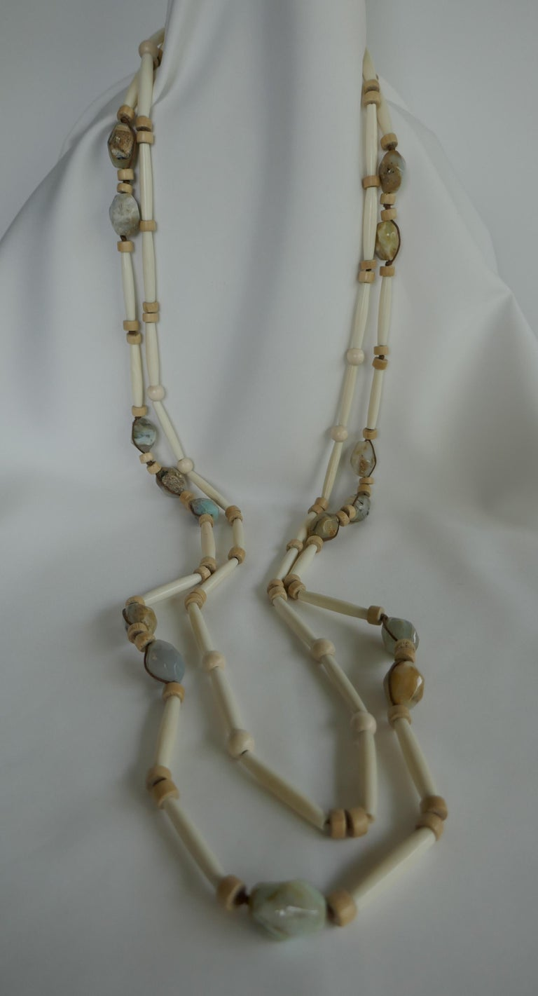 abd97f53fb35 If you like unique pieces this is definitely one to own. This two strand  necklace