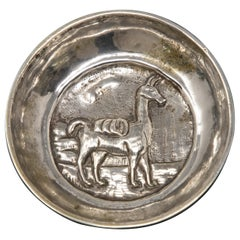 Peruvian Sterling Silver Dish