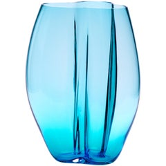 Petalo Small Vase 6 Petals in Murano Glass by Alessandro Mendini