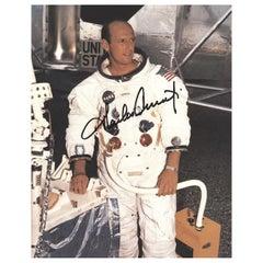 Pete Conrad Apollo 12 Signed 1969 Photograph Black and White