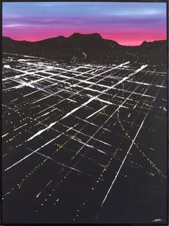 Chandler Sunset Aerial