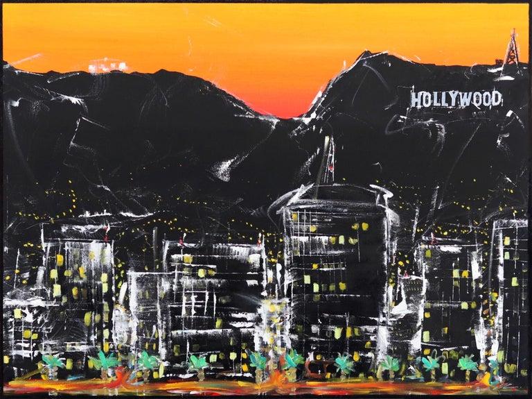 Pete Kasprzak Landscape Painting - Hollywood Street