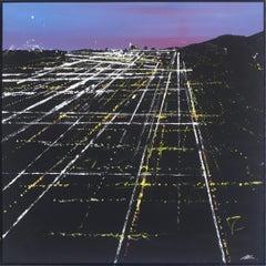 Lexington Sunset Aerial