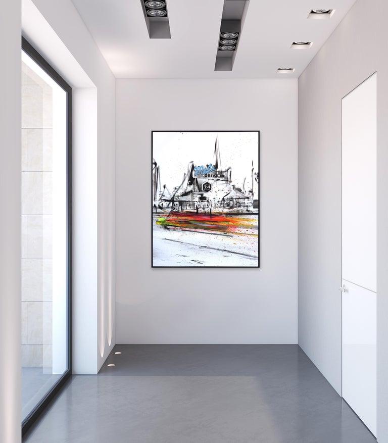 Mel's Inverted - Painting by Pete Kasprzak
