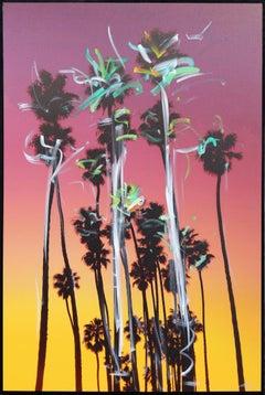 Santa Barbara Grouped Palms