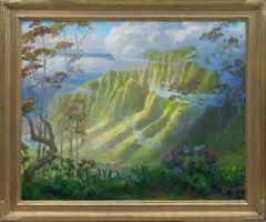 Parting Mist; Kalalau Lookout, Kauai