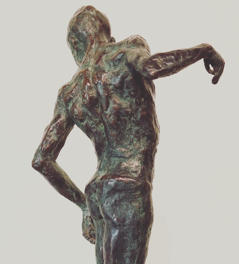 Ray- 21st Century Sculpture of a male dancer  For Sale 1