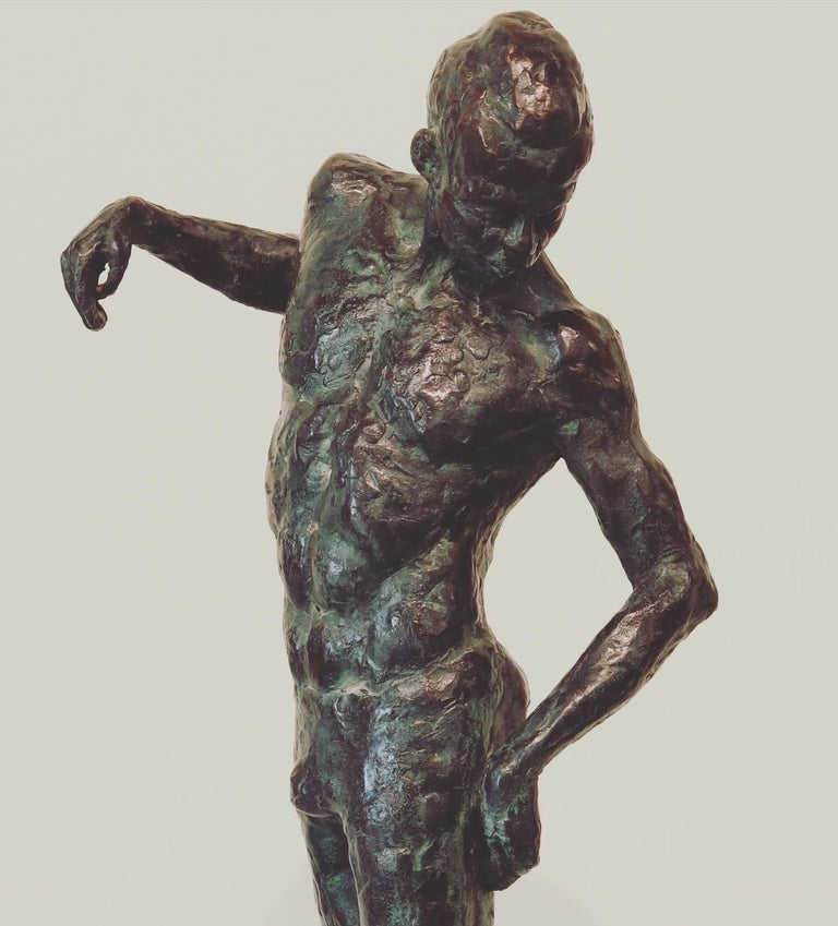 Ray- 21st Century Sculpture of a male dancer  For Sale 3