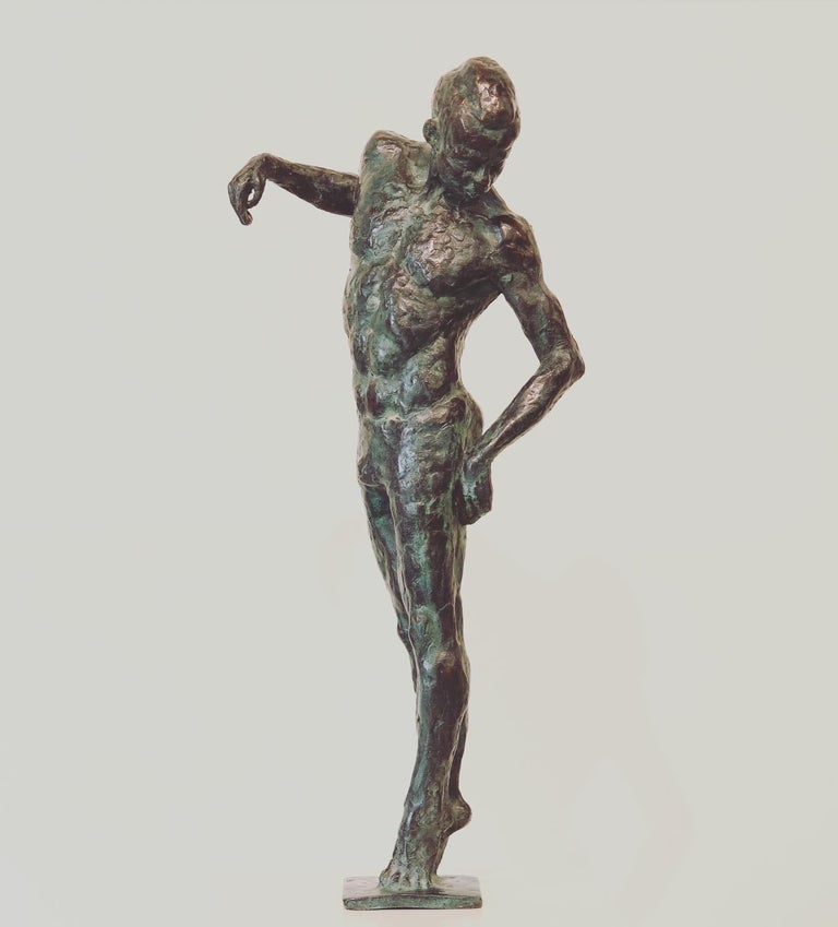 Ray- 21st Century Sculpture of a male dancer  For Sale 4