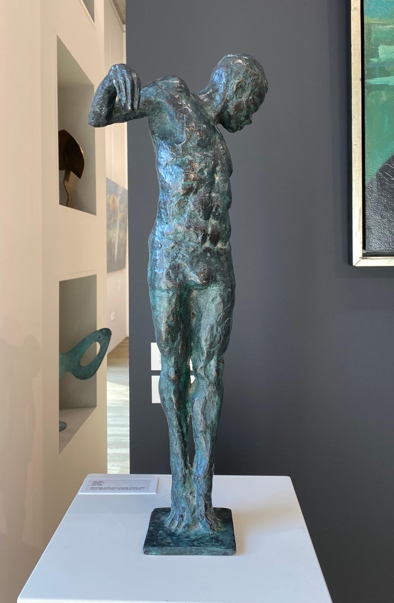 Ray- 21st Century Sculpture of a male dancer  For Sale 5