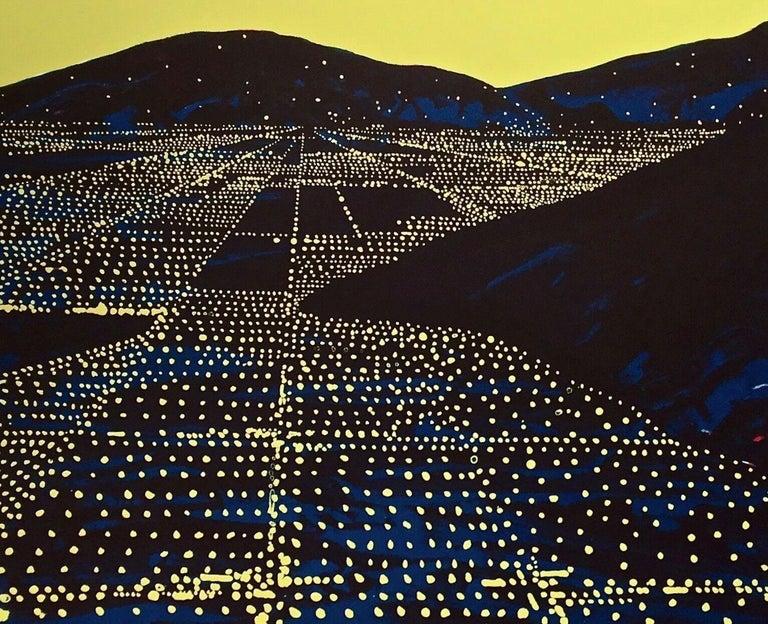 Peter Alexander Landscape Print - Hallelujah II