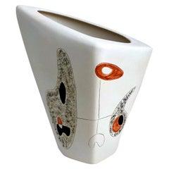 Peter and Denise Orlando Large Ceramic Vase, 1950s