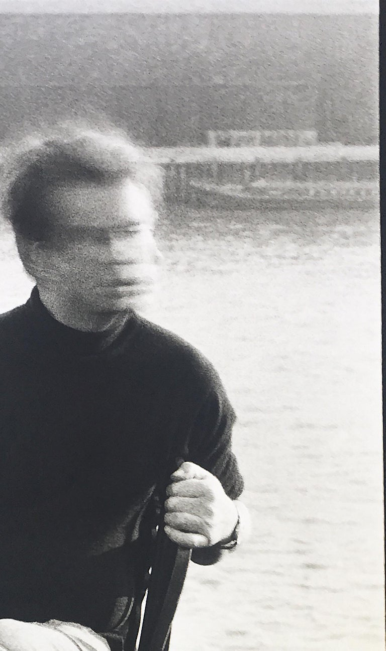 Peter Beard - Francis Bacon at 80 Narrow Street, London, Unsigned - Contemporary Photograph by Peter Beard