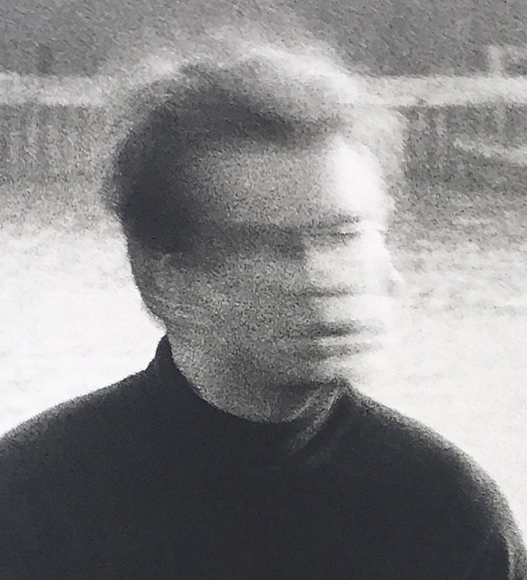 Peter Beard - Francis Bacon at 80 Narrow Street, London, Unsigned For Sale 1