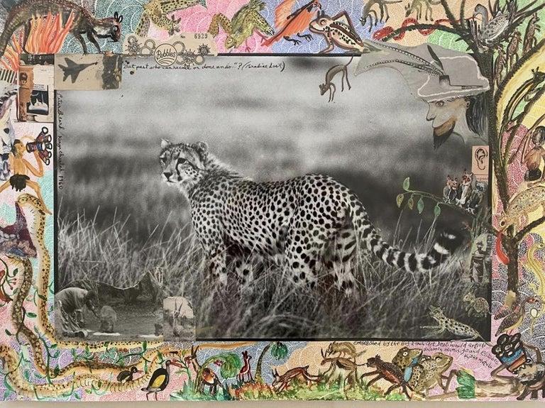 Peter Beard Black and White Photograph - Kenya Cheetah