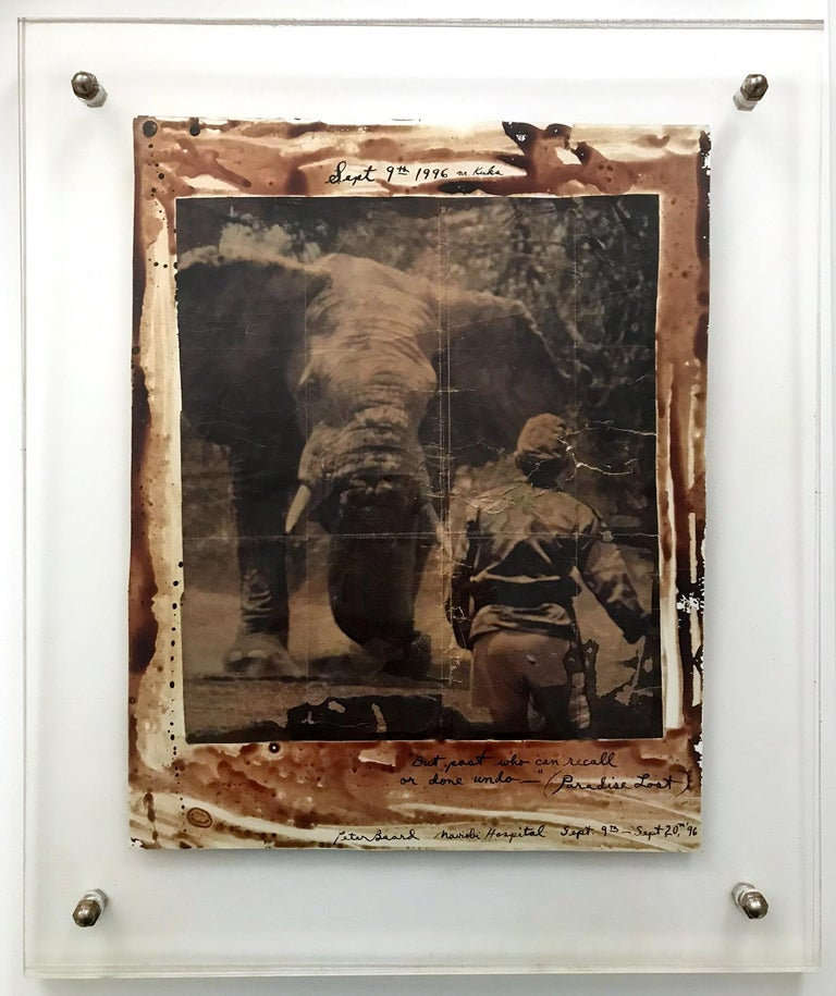 Paradise Lost, Photography, Double Sided, Black and White, Color, Signed For Sale 10