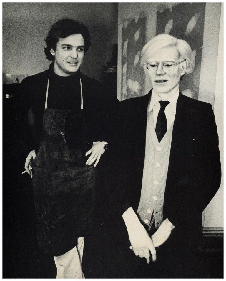 Andy Warhol Jamie Wyeth (museum program)  - Photograph by Peter Beard