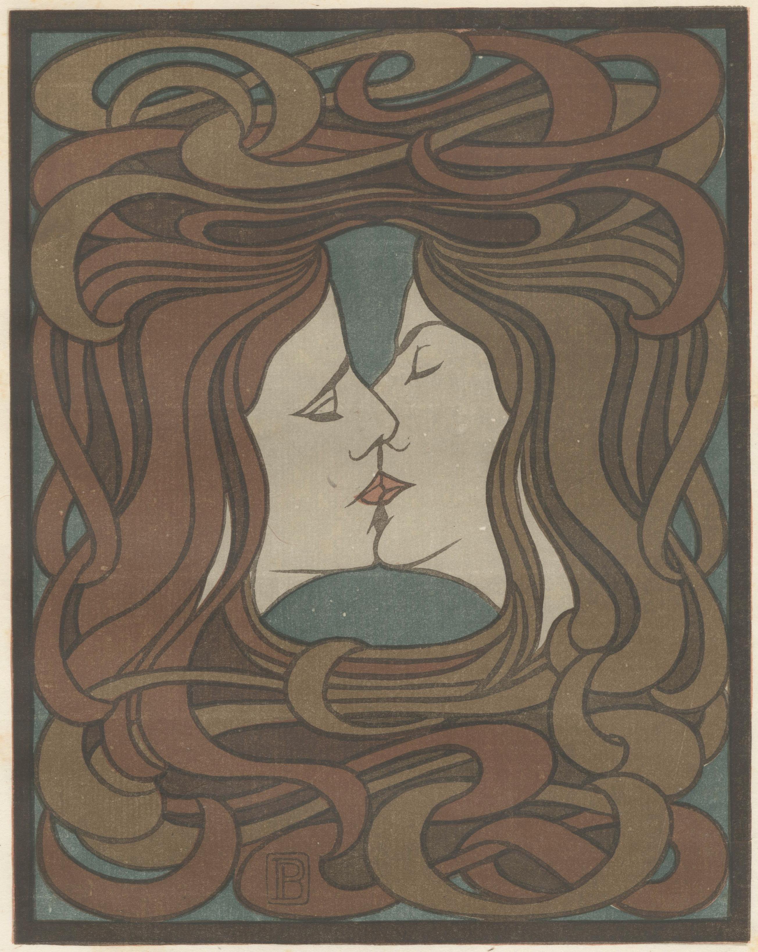 Der Kuss  The Kiss (plate facing page 116)