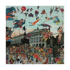 Peter Blake, Piccadilly Circus - The Convention of Comic Book Characters, 2012