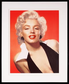 Pop Art 'Marilyn Monroe' Portrait with Diamond Dust, Limited Edition, 2010