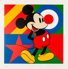 Red Nose Day -- Screen Print, Comic, Pop Art by Peter Blake