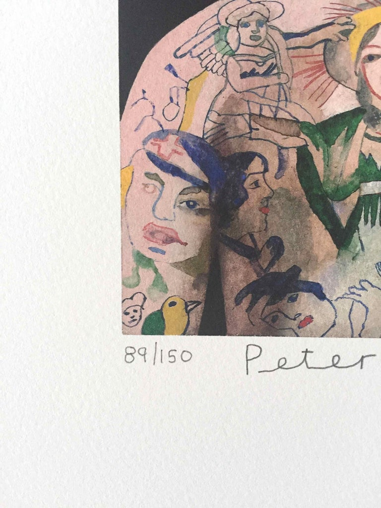 Tattooed People, Betty: Limited Edition Print by Sir Peter Blake For Sale 2