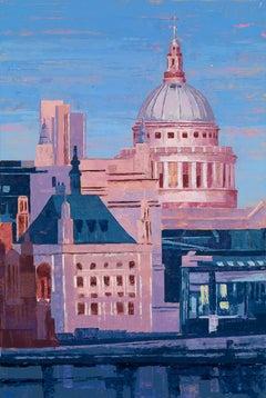 St Paul's. West 1 original city landscape painting