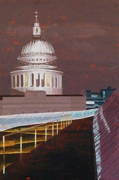 St Paul's West original city landscape painting
