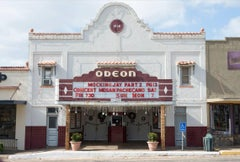 Central Texas: Odeon Theater, Mason, Texas