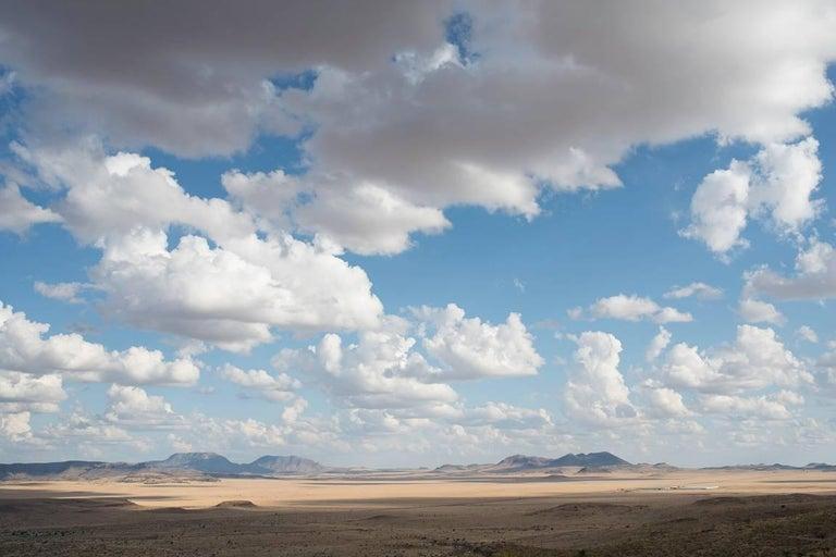 Peter Brown Color Photograph - West Texas: Fort Davis plain from Davis Mountains