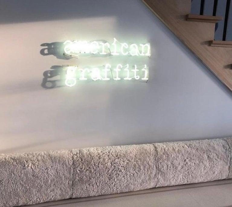 Peter Buchman American Graffiti Neon, 2021 For Sale 1
