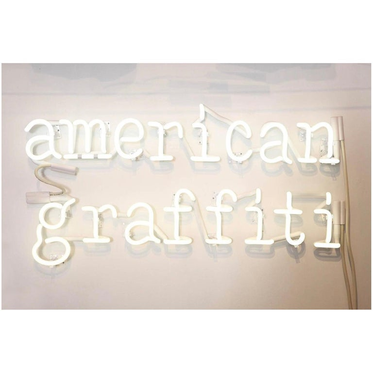 Peter Buchman American Graffiti Neon, 2021 For Sale