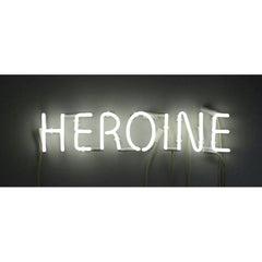 Peter Buchman Heroine White Neon, 2021