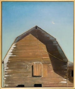 Weathered (old barn, soft sky, symbolic, COVID 19))