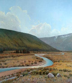 Winding River (landscape, lush mountains, a story to tell)