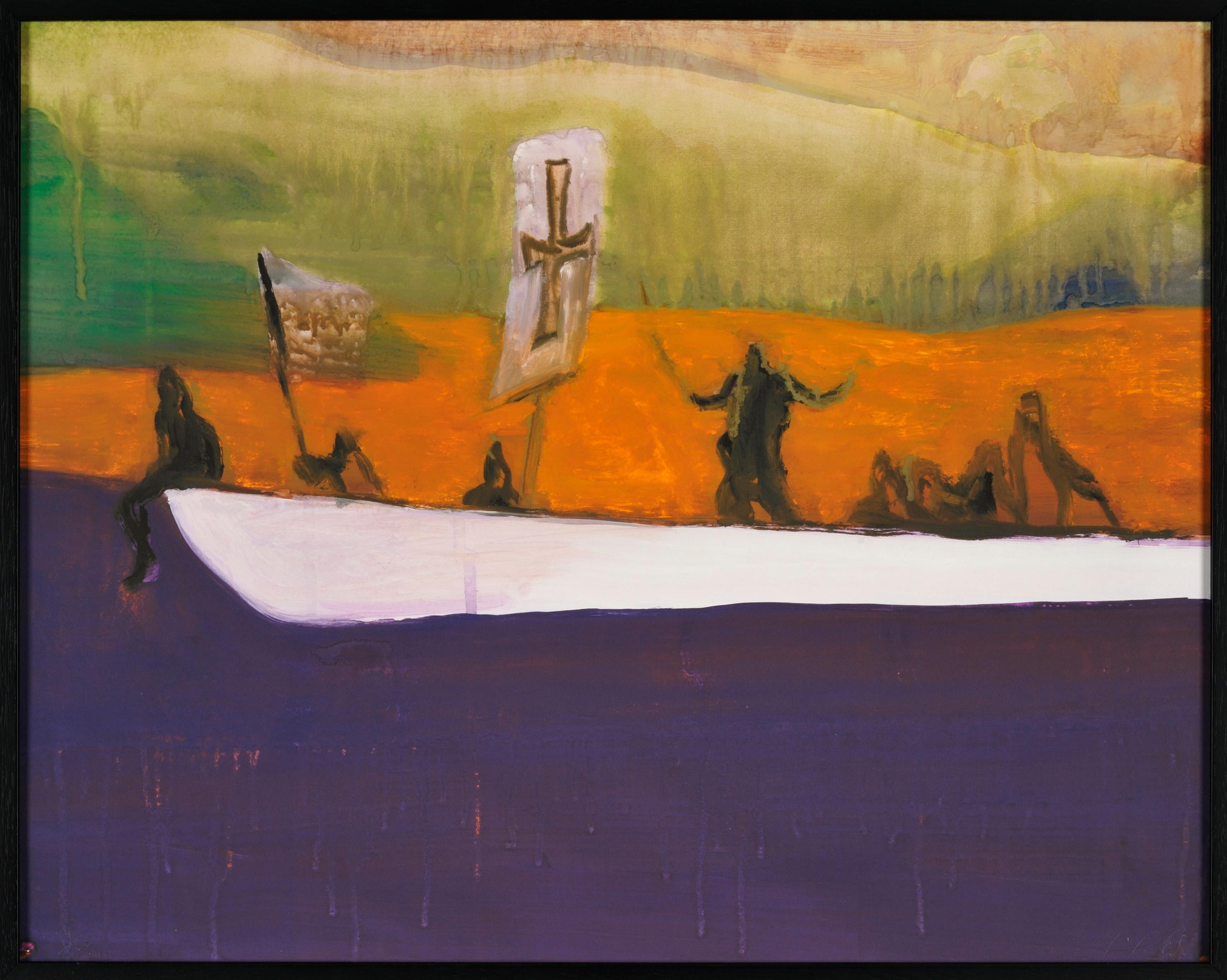 Canoe - Peter Doig, Contemporary, 21st Century, Etching, Magic Realism, Edition