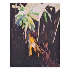 Fisherman, Pigment Print, Figurative Art, Contemporary Painter, 21st Century
