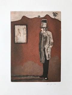 Haus der Bilder  Etching  Contemporary Art  21st Century