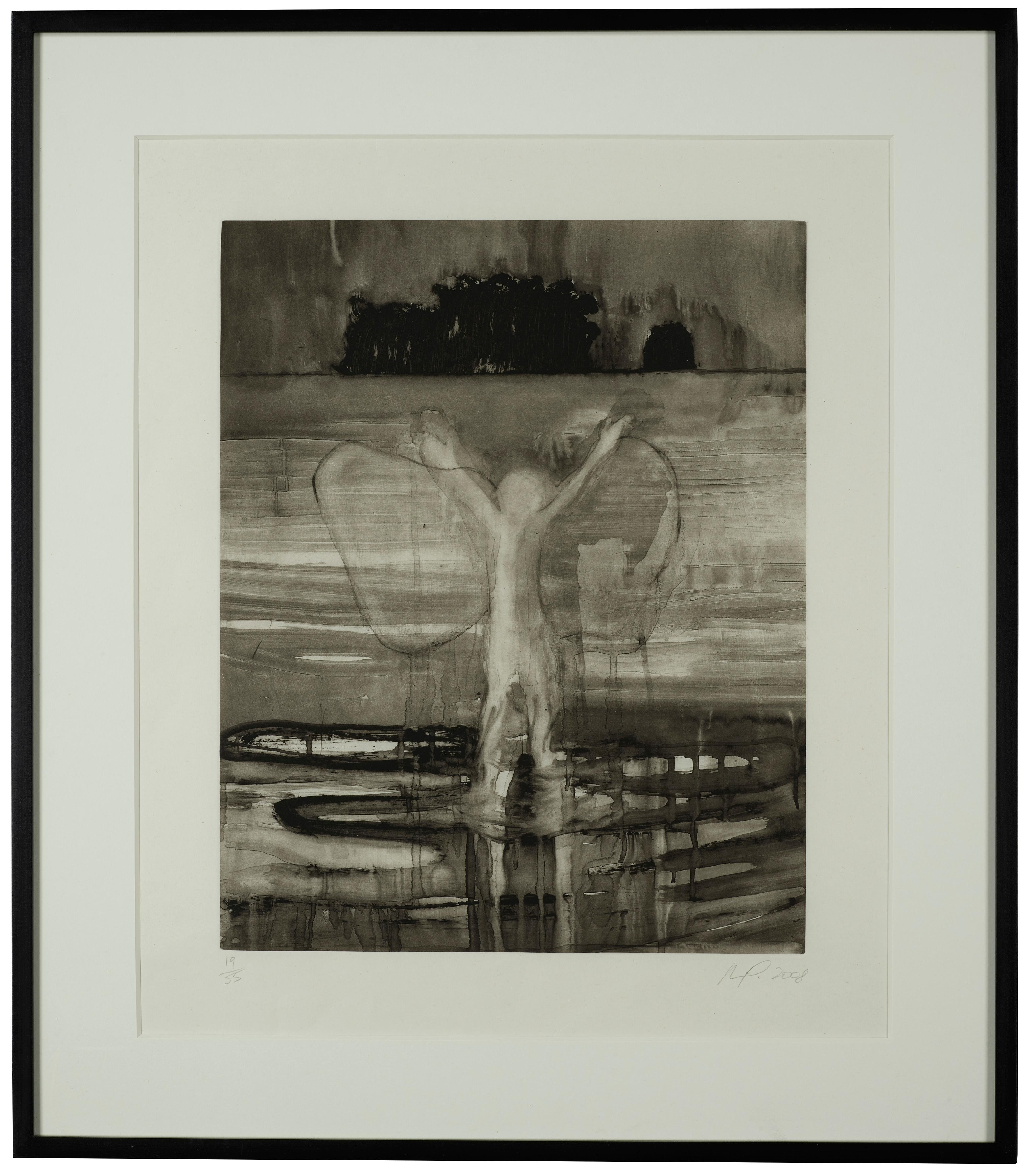 Paragrand I by Peter Doig, Etching with Aquatint on Japanese Paper