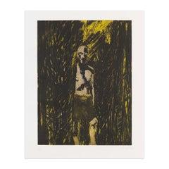 Untitled (Fisherman), Etching and Aquatint, British Artist, Contemporary Art