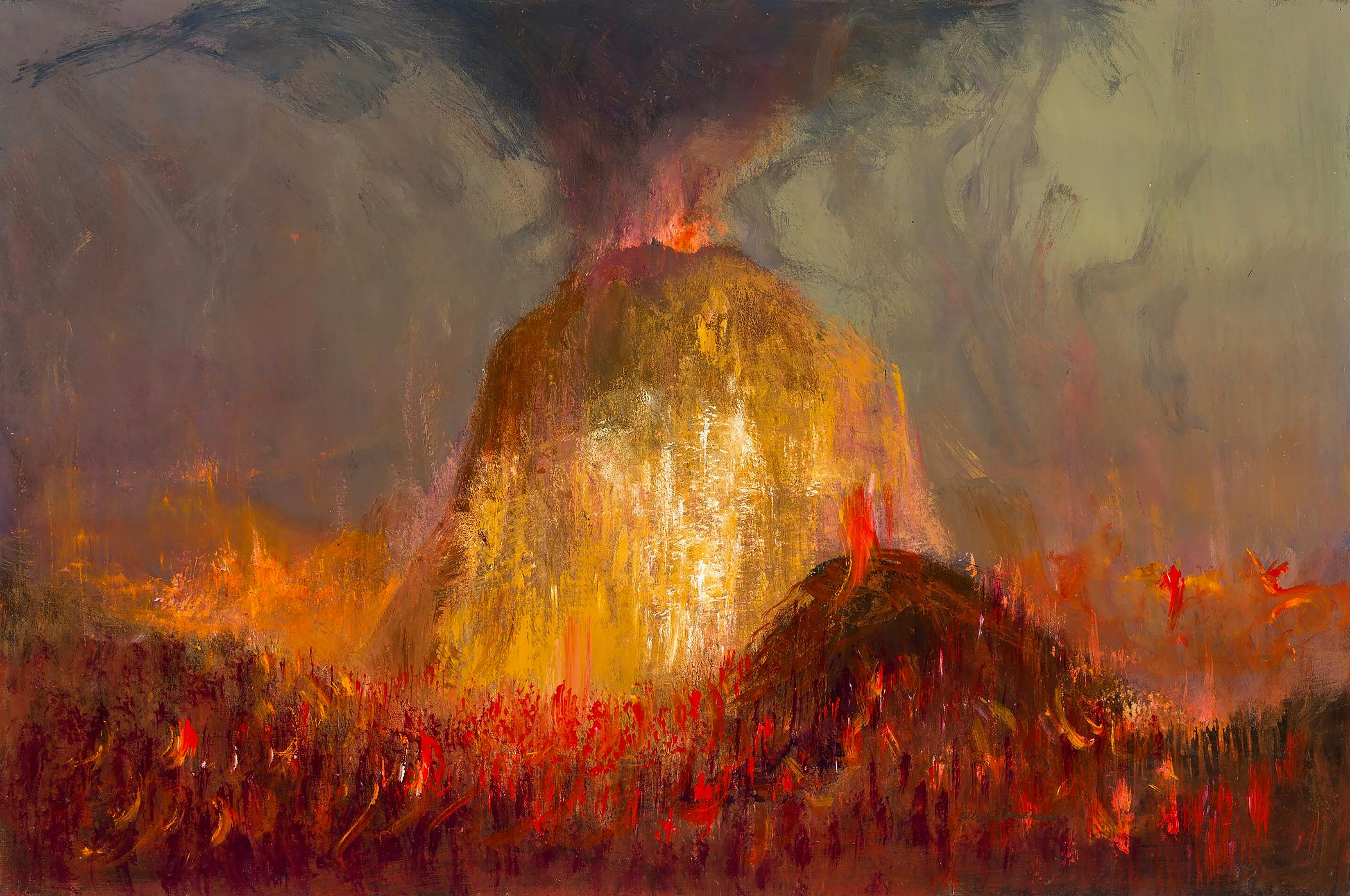 Volcano Eruption - Explosive Fire Lava Flow from Hell,