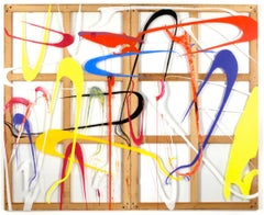 """""""Drone Attack"""" Large Scale Abstract Painting"""