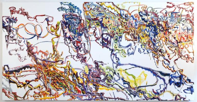 Peter Fox Abstract Painting - Heraldic