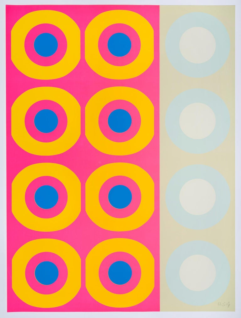 Peter Gee was a British artist, graphic designer, and developer who is best known for his Pop silkscreen prints. He joined the army as a graphic designer and attended the Martin School of Art in London. His work was exhibited at the Axiom Gallery in