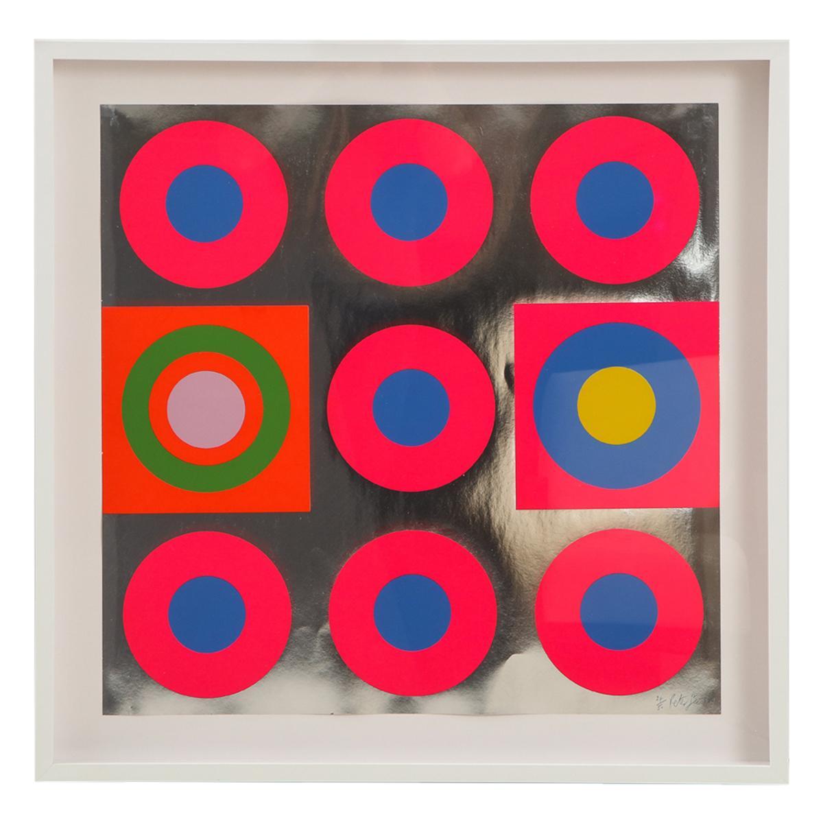 Peter Gee Pop Art Silkscreen