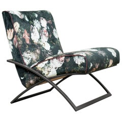 Peter Ghyczy Chair Urban Wave, GP03 Ristretto/Pellestrina Flowers