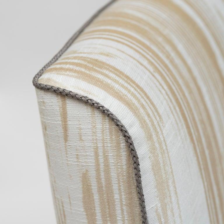 Dutch Peter Ghyczy Chair Urban Wave 'GP03' Stainless Steel Matt / Pampelonne For Sale