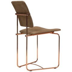 Peter Ghyczy Contamporary Chair Urban S02 Copper / O02 Handmade